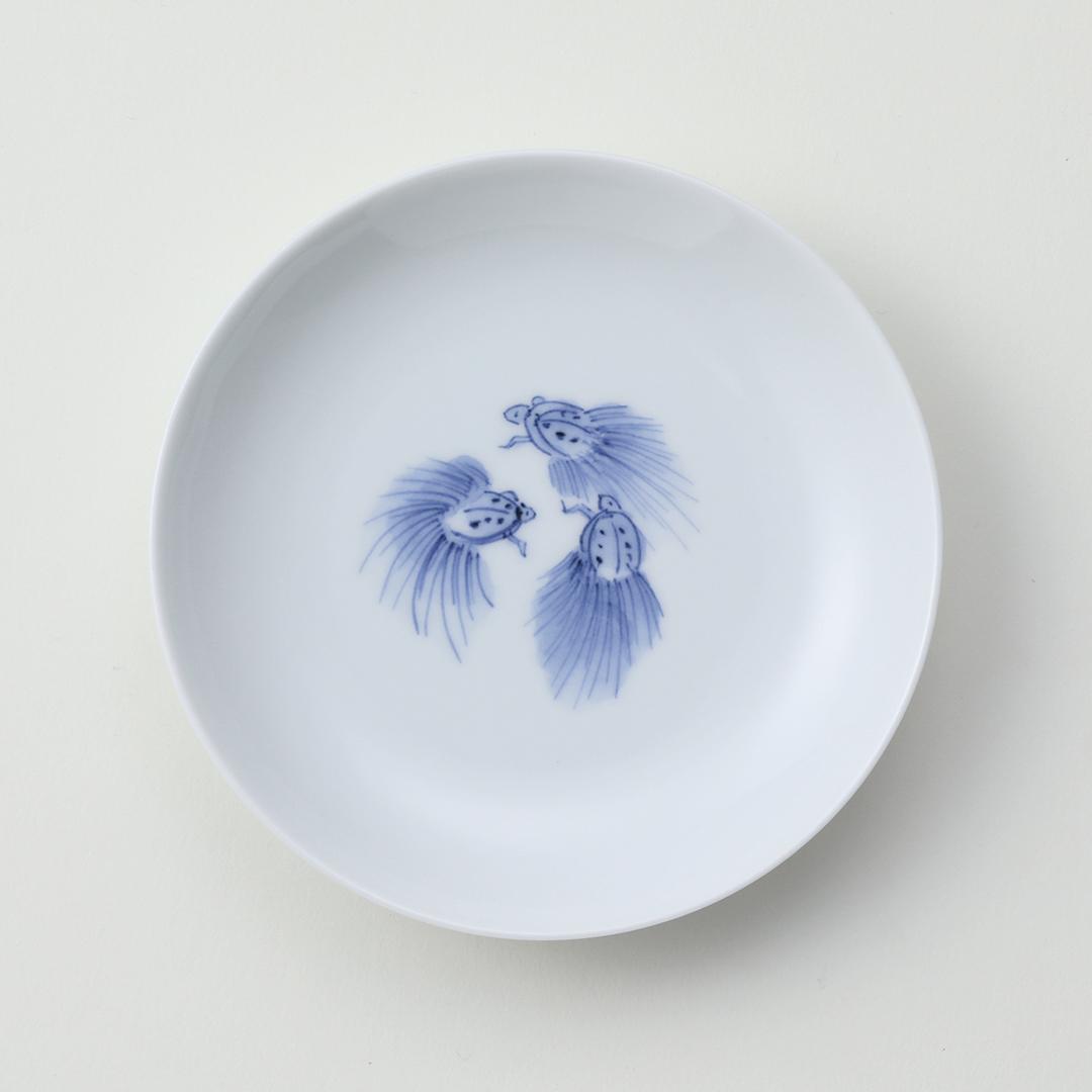 三遊亀豆皿