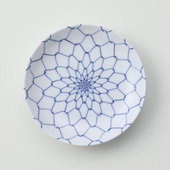 内外網絵豆皿