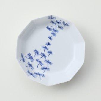群とんぼ豆皿