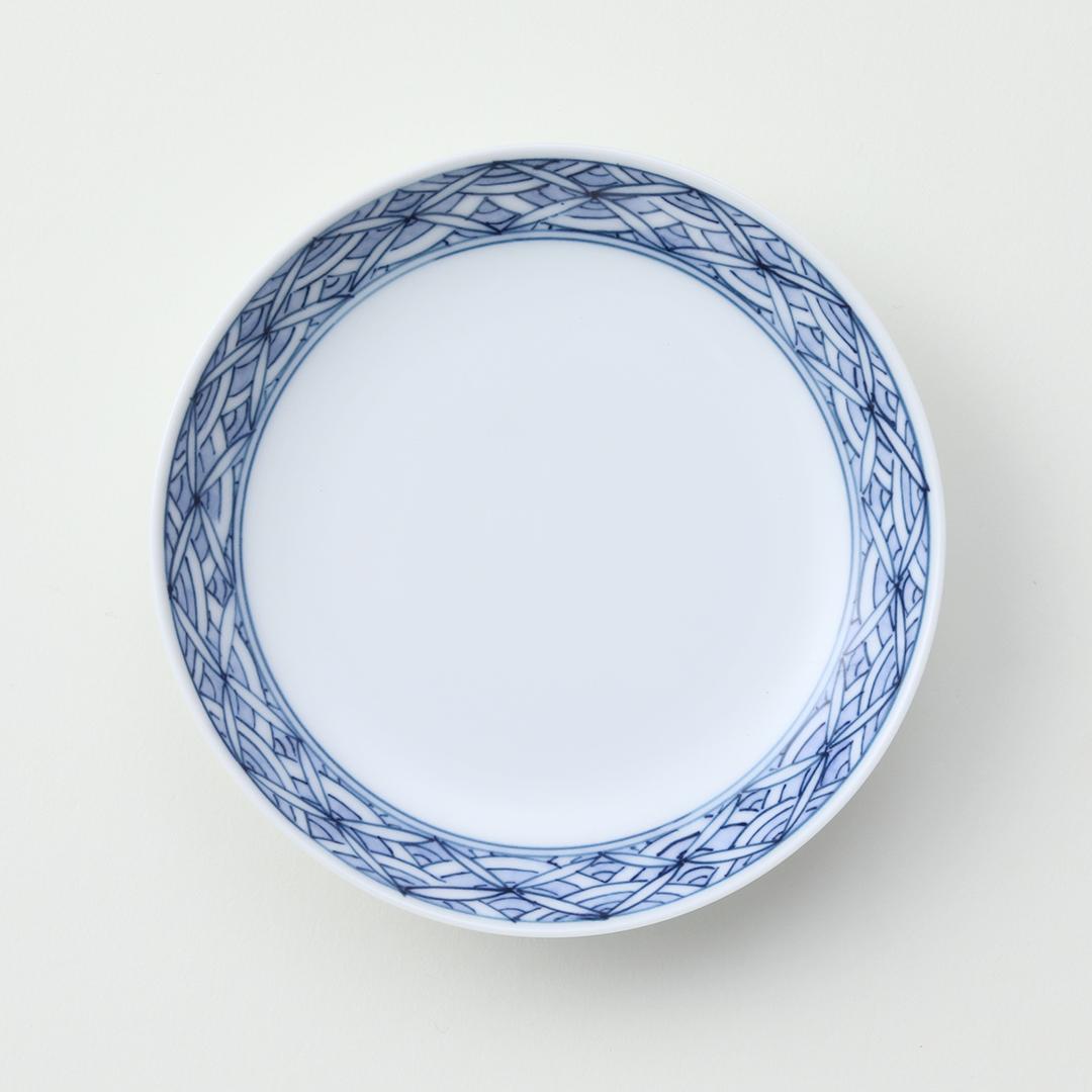 青海波七宝豆皿