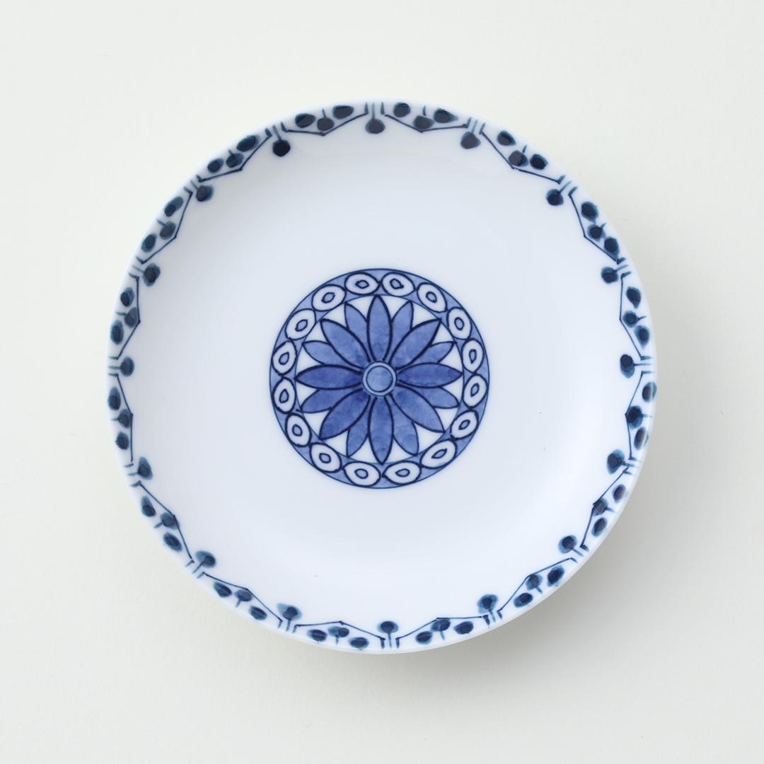 菊水玉豆皿