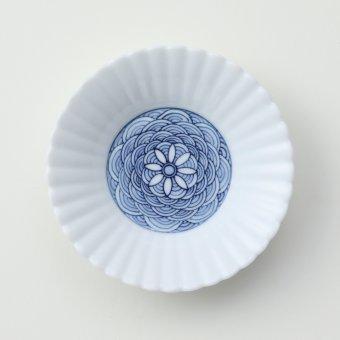 青海波絵豆皿