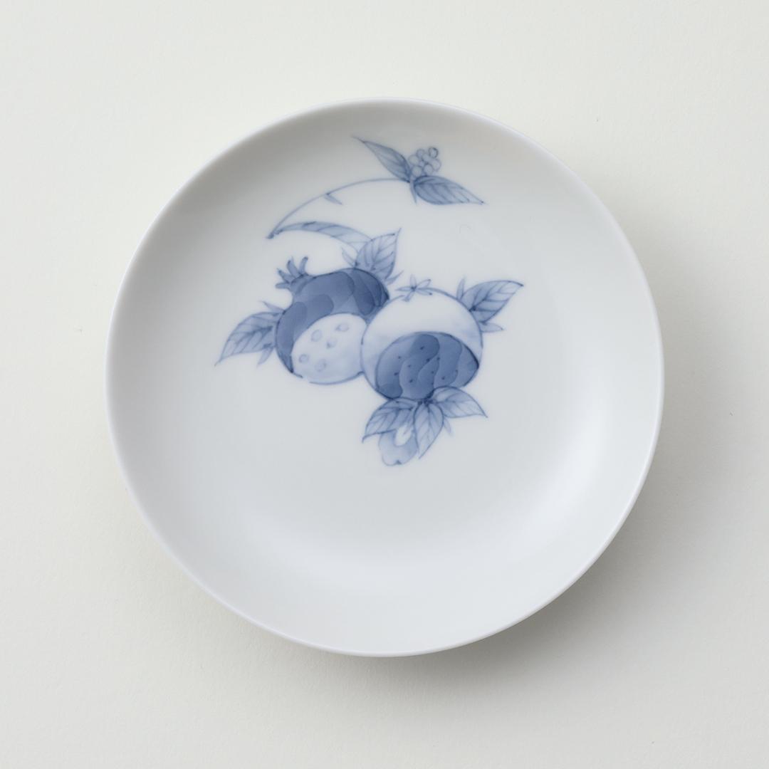 柘榴文豆皿