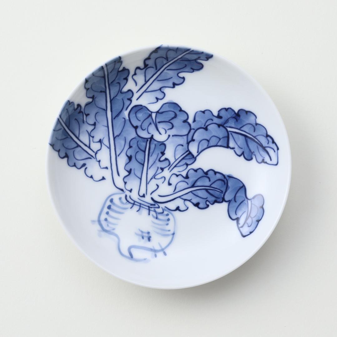 平戸蕪絵豆皿
