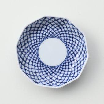 七宝文豆皿