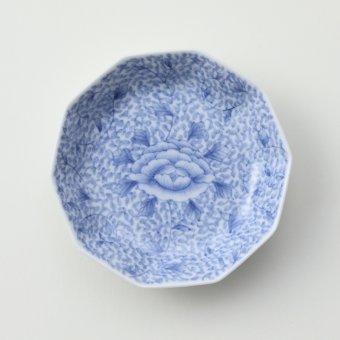 牡丹唐草文豆皿(全面)