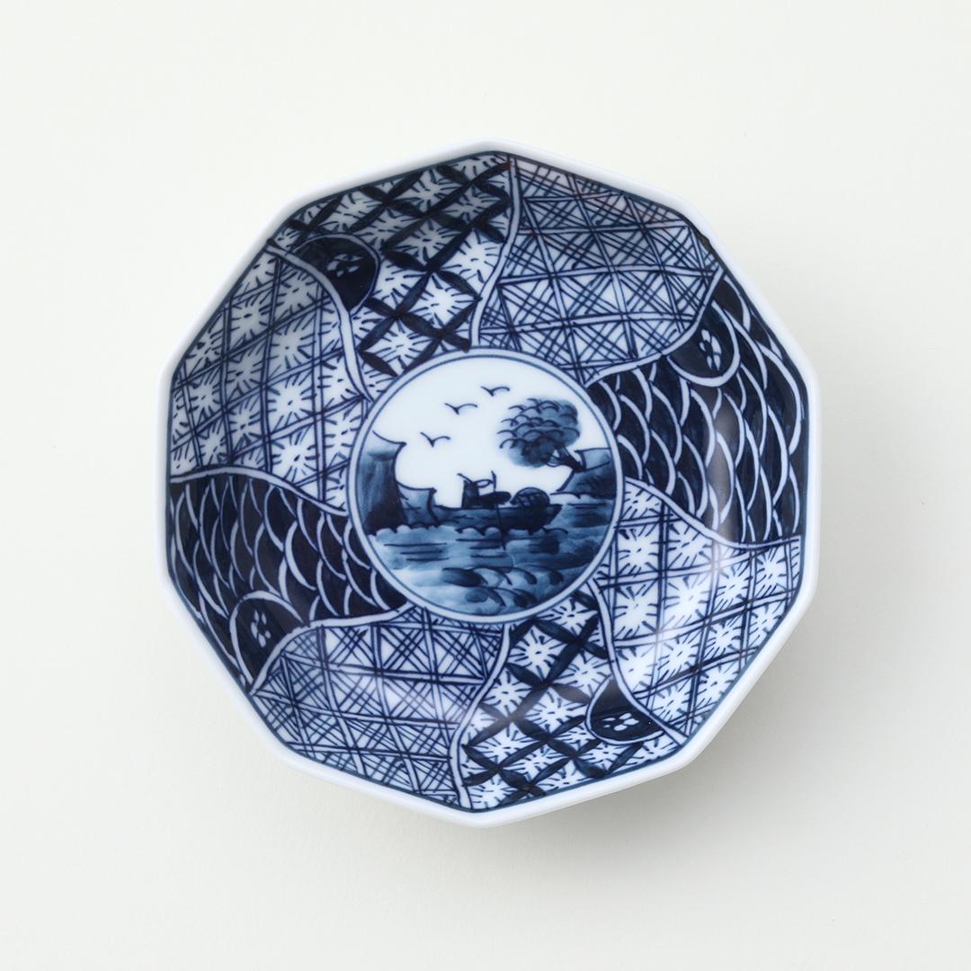 祥瑞文豆皿(全面)