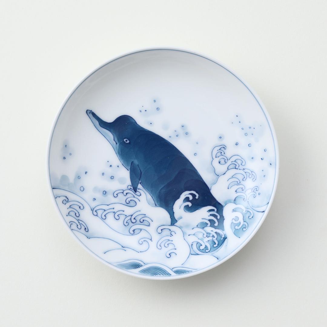 波ツチ豆皿