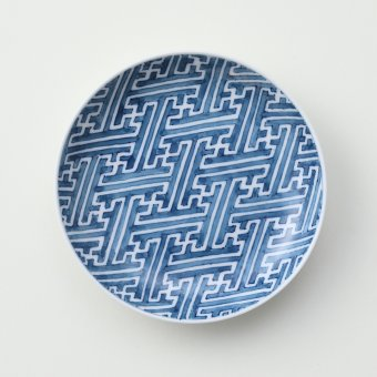 紗綾型豆皿