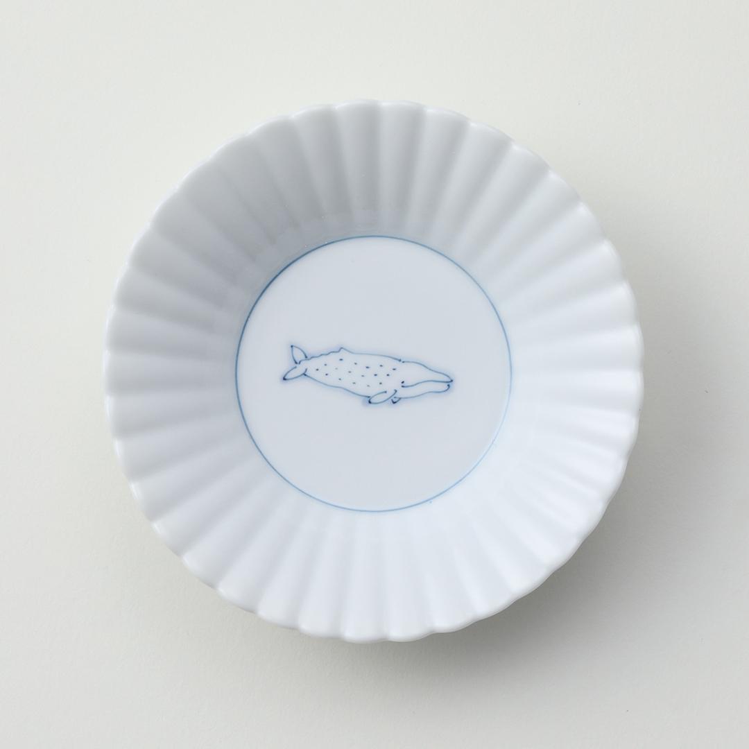 線鯨コク豆皿
