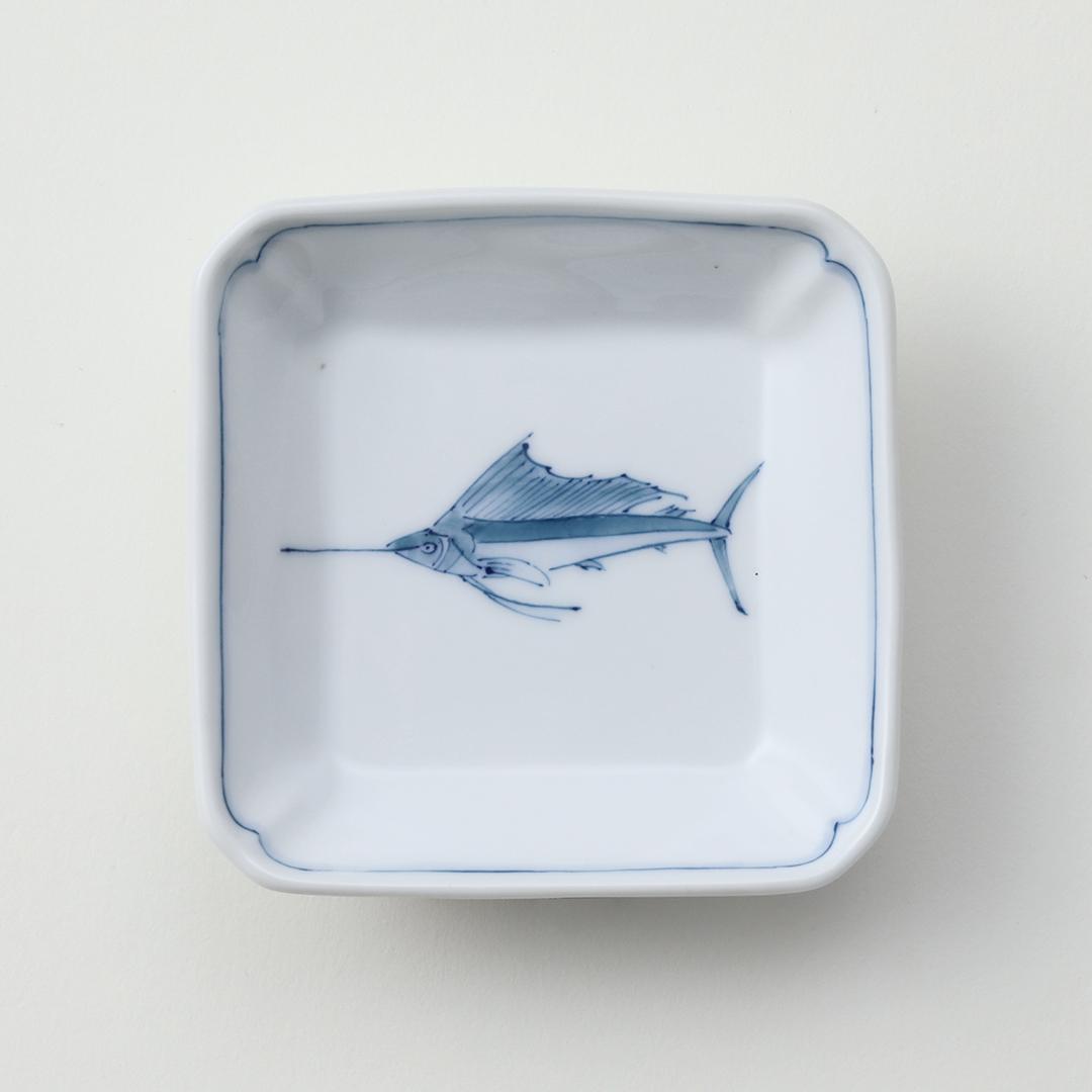 バショウカジキ豆皿
