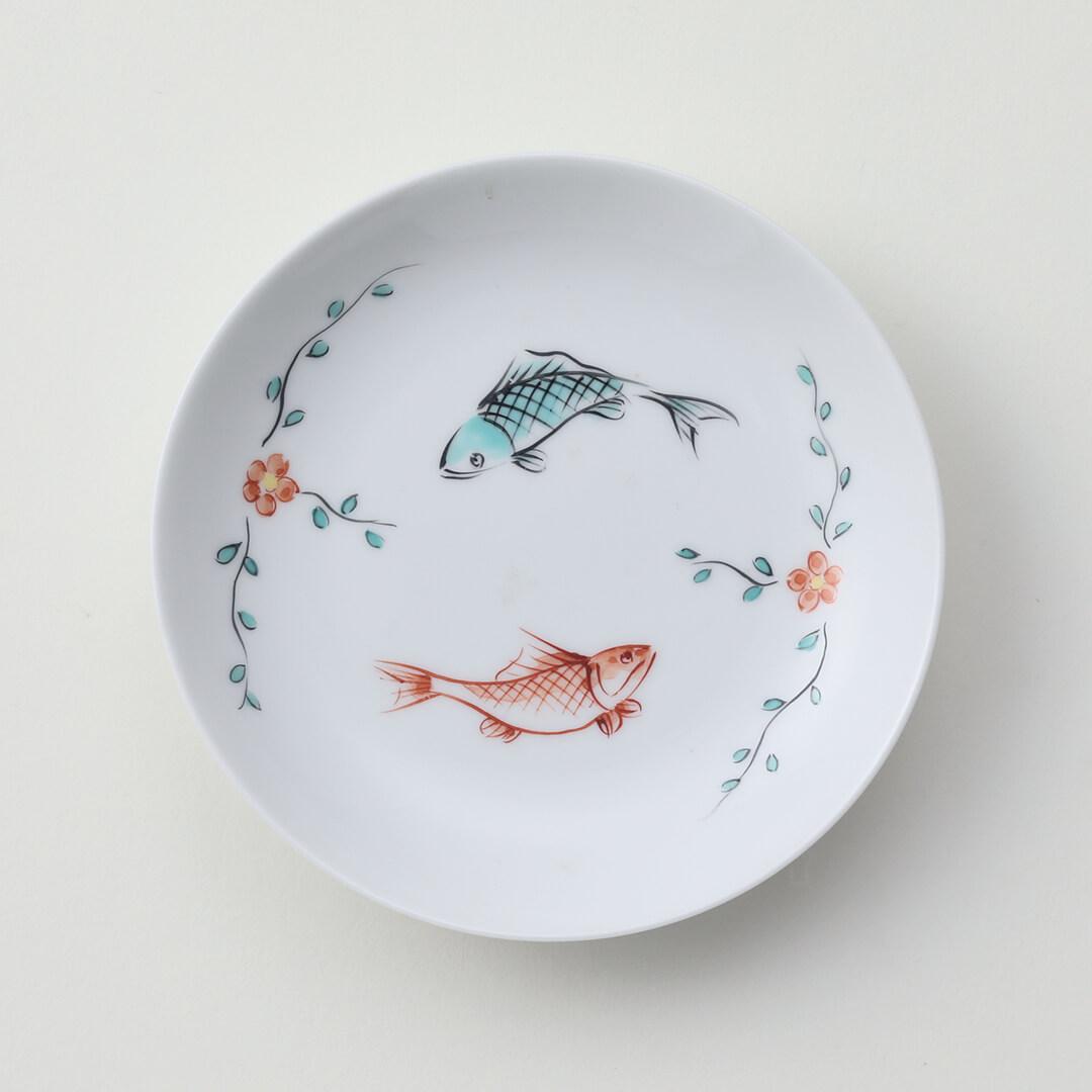 太白魚紋豆皿