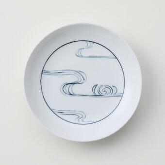 太白青流水豆皿
