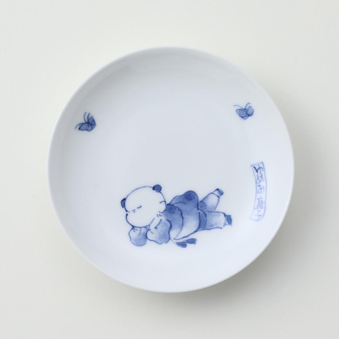 ゆめみ唐子豆皿(上)