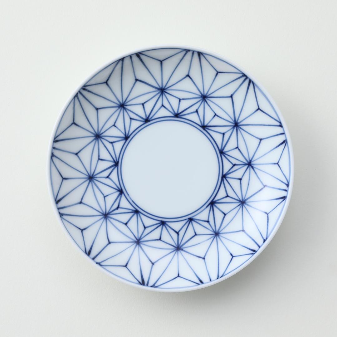 麻の葉豆皿