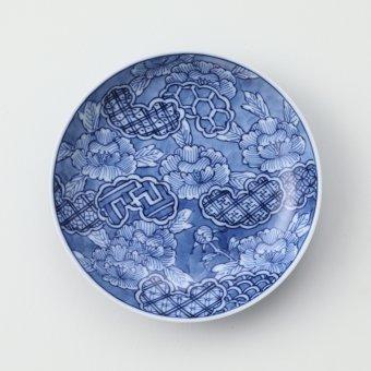 牡丹祥瑞豆皿