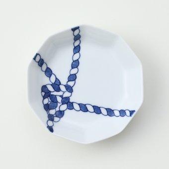 もやい結び豆皿