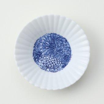 菊尽くし豆皿
