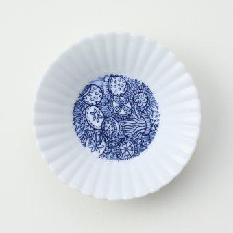 くらげ豆皿
