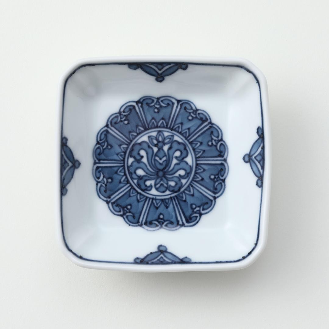 渕七宝豆皿