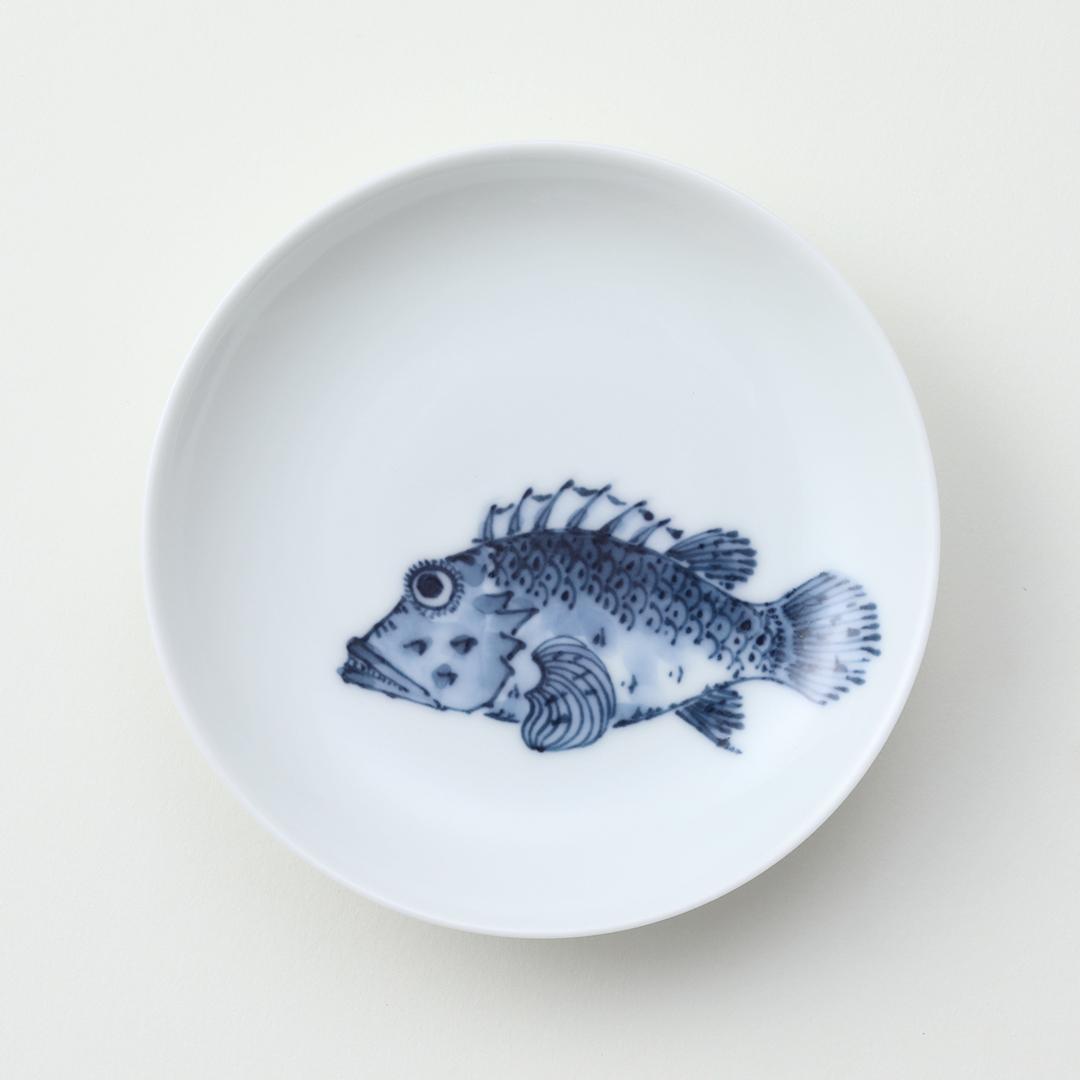 魚紋 <かさご>豆皿