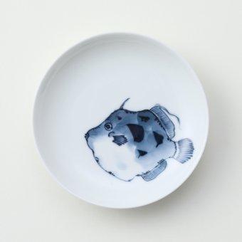 魚紋 <かわはぎ>豆皿