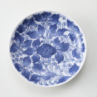 古平戸唐草紋豆皿