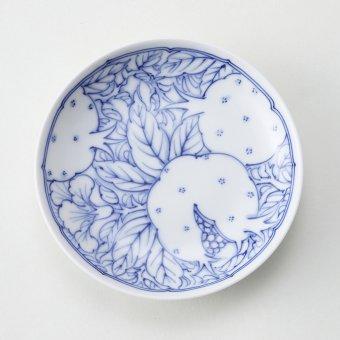 花ざくろ紋豆皿