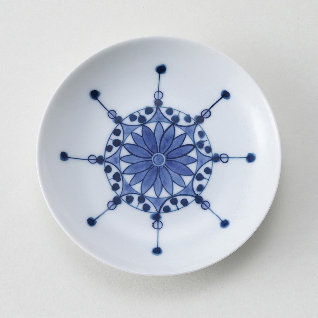 瓔珞紋豆皿