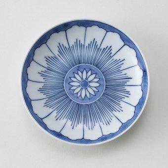 輪花紋豆皿