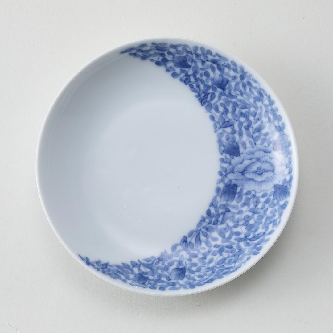 牡丹唐草文豆皿