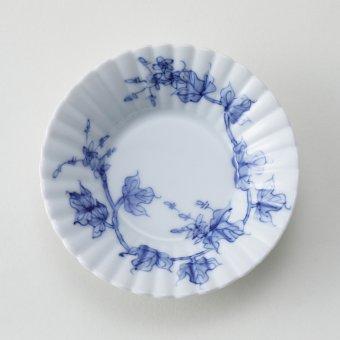 平戸草花文豆皿(蔦)