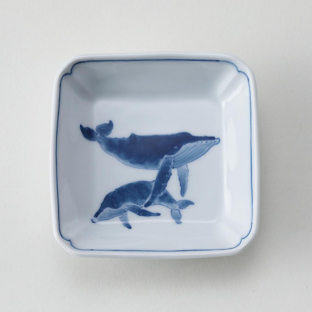 ザトウ親子豆皿