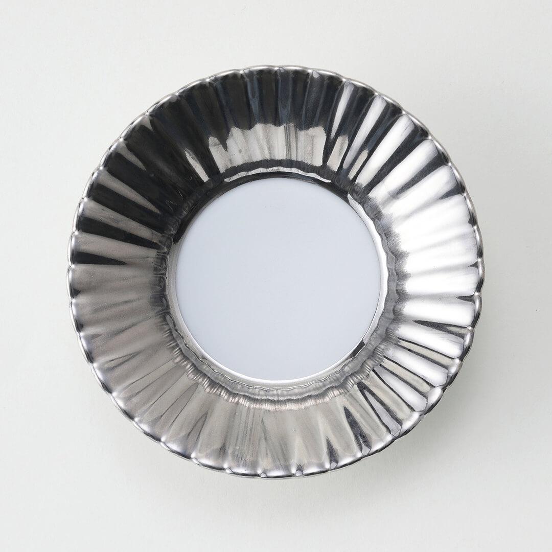 プラチナヌリ豆皿