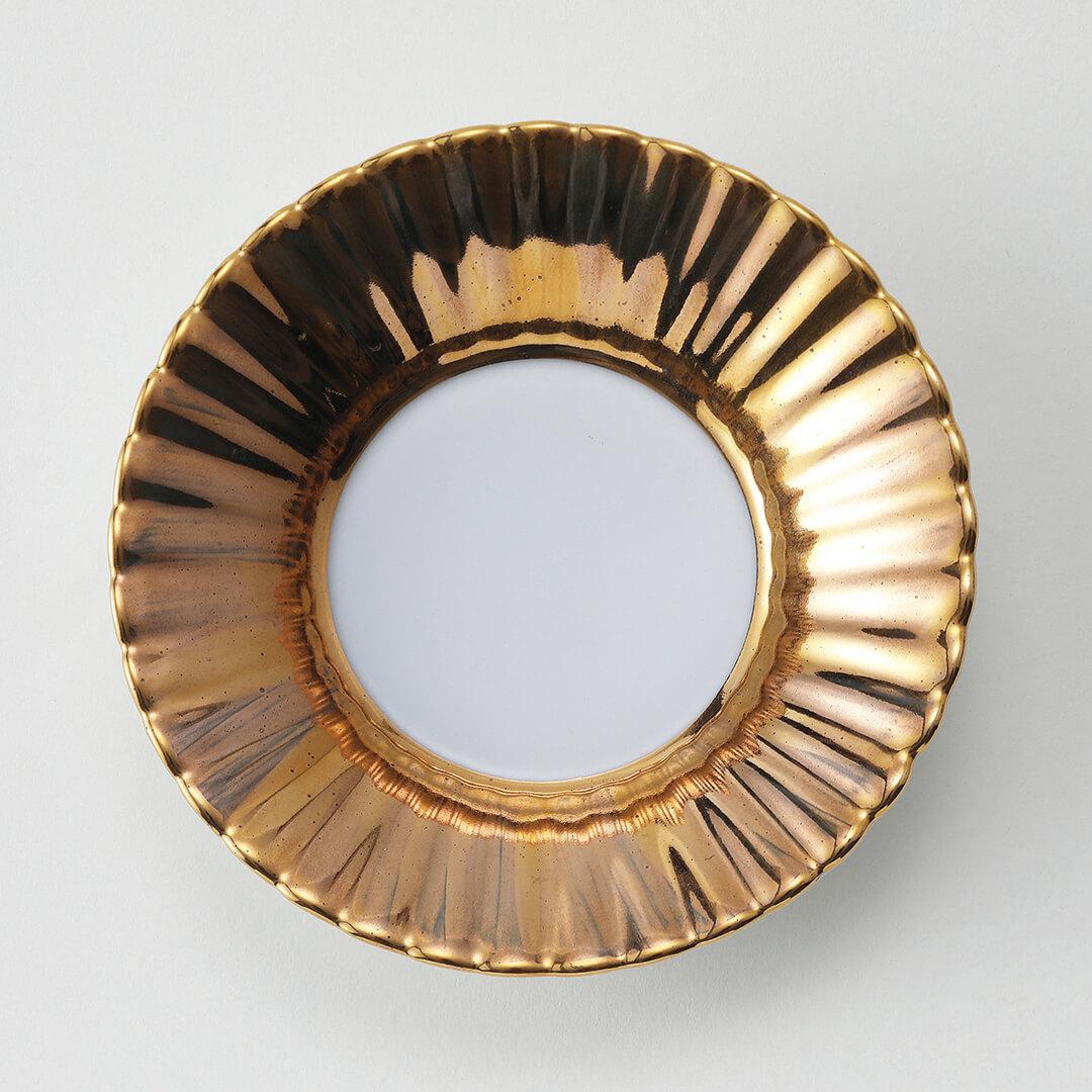金ヌリ豆皿