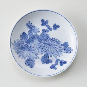古平戸菊豆皿