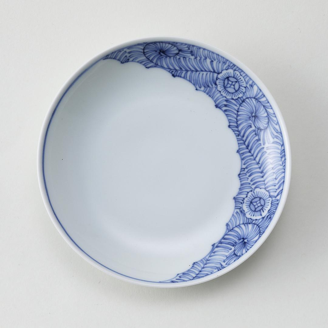 古平戸唐草豆皿