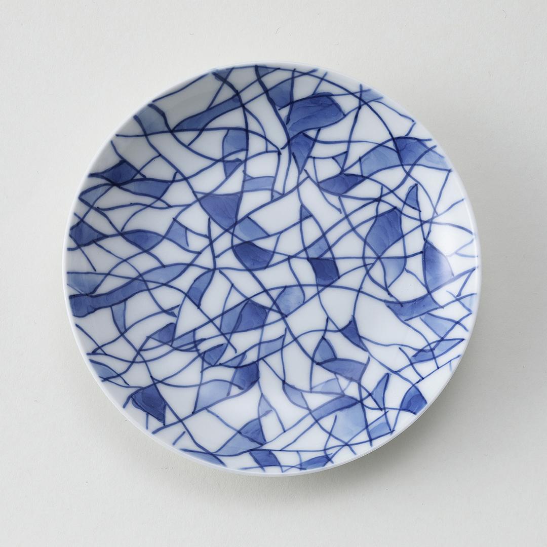 幾何紋豆皿