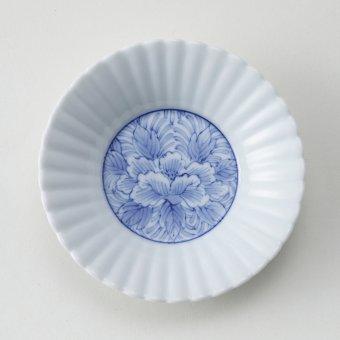 ボタン唐草豆皿