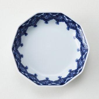 瓔珞文豆皿