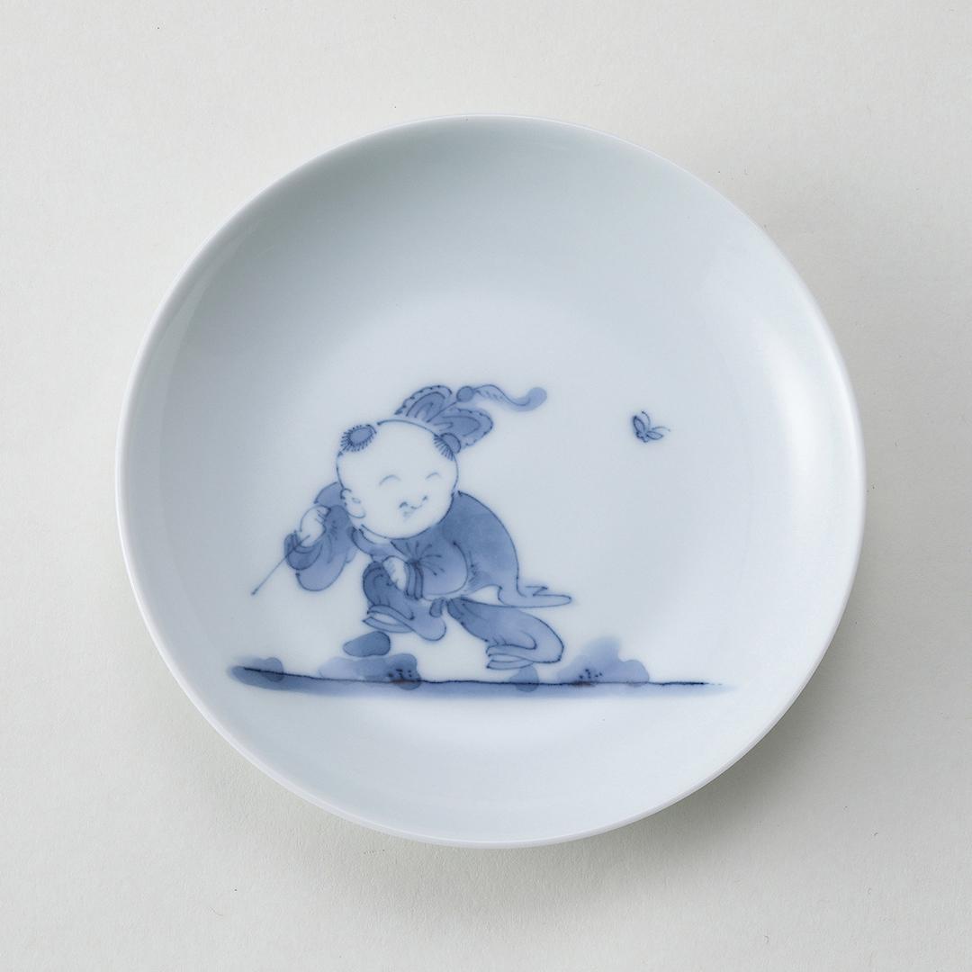 創作唐子豆皿〈A〉