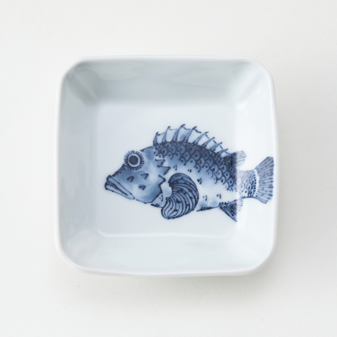 魚紋〈かさご〉豆皿