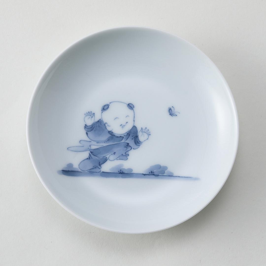 創作唐子豆皿〈C〉